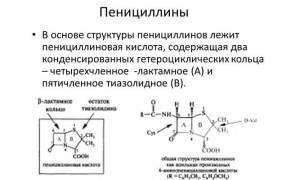 Бета лактамные антибиотики препараты