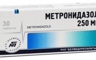 Метронидазол является ли антибиотиком