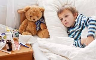 Антибиотики при простуде у детей