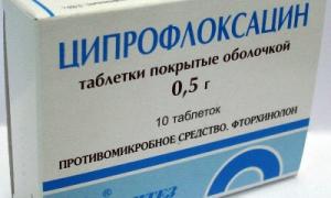 Можно ли пить ципрофлоксацин при простуде