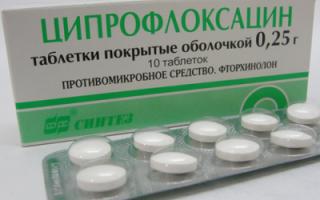 Можно ли давать детям ципрофлоксацин