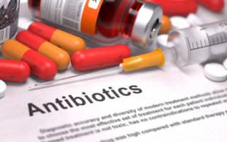 Антибиотики таблетки при геморрое