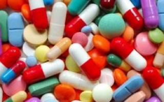 Препараты урологические антибиотики