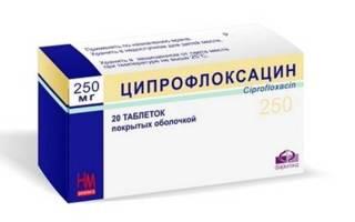 Как принимать ципрофлоксацин