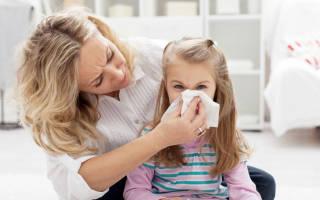 Антибиотики при насморке у ребенка