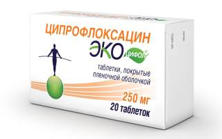 Ципрофлоксацин 500 мг как принимать