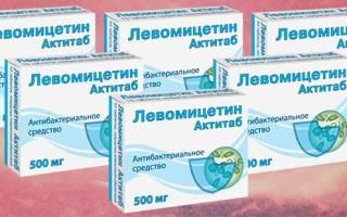 Левомицетин от цистита как принимать