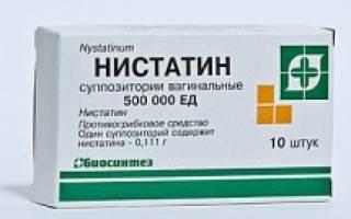 Можно ли таблетки нистатин использовать вместо свечей