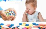 Антибиотики при кашле у детей